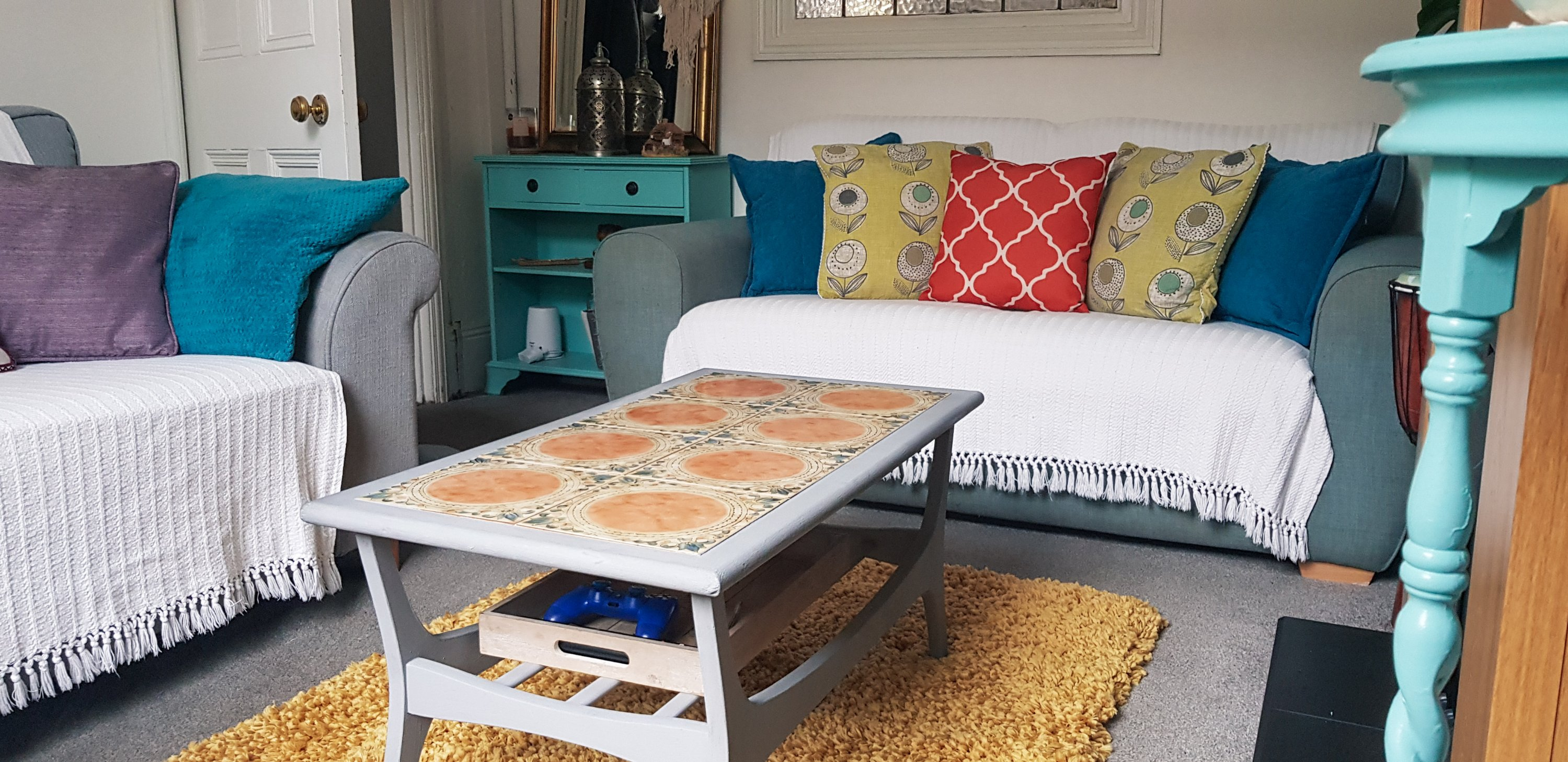 Boho On A Budget Living Room Makeover Wholly Dee